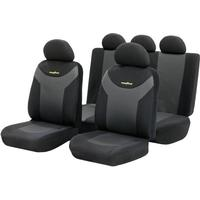 Goodyear Seat Cover 9-pc. Goodyear Antracit, Sort 9 Parts