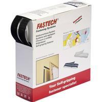 Fastech Kardborreband-kvadrater Fastech B20-SQ000005 (LxB) 20 mm x 20 mm Statisk del och fleecedel Vit 460 delar
