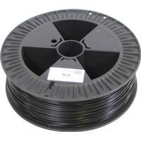 German RepRap 100294 3D-skrivare Filament PLA-plast 3 mm Svart 2.1 kg