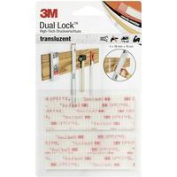 3M Velcrobånd Svampehoved 3M DL-HT (L x B) 100 mm x 19 mm Transparent 4 stk