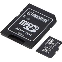Kingston 8 GB Industrial Temperature UHS-I micro-SD + adapter