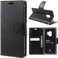 MERCURY Bravo Diary læder cover m/kprtholder til Samsung Galaxy S9