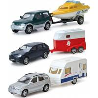 Junior Driver Bil med Campingvogn, hestetrailer eller båd