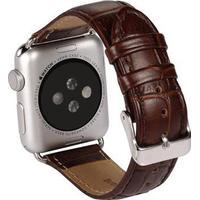 Apple Watch Benks Læder Armbånd - 38mm - Brun