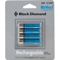 Strøm Black-diamond Aaa Rechargeable Battery 4 Pack