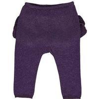 MARMAR Pax Frill Leggings Med Flæser Purple Night