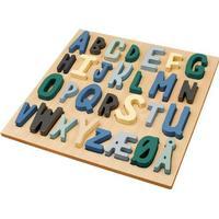 Sebra ABC Boy Wooden Puzzle