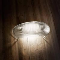 Glansfuld LED væglampe Cannettata