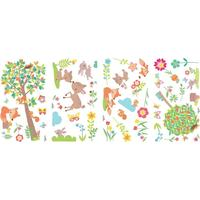 RoomMates Woodland Creatures Peel & Stick Wall Decals