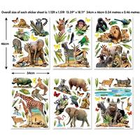 Walltastic Jungle Safari Room Decor Kit 45439