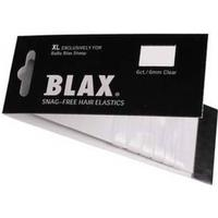 Blax Hair Elastics XL Clear 6 mm 6 pcs