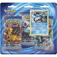 Pokémon XY - Evolutions 3 Booster Packs Black Kyurem Pin