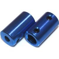 Aluminum Coupling - 5mm till 8mm