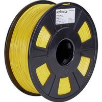 Renkforce 3D-skrivare Filament Renkforce PETG 1.75 mm Gul 1 kg