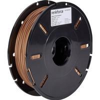 3D-skrivare Filament Renkforce PLA Compound 1.75 mm Koppar 500 g