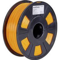 3D-skrivare Filament Renkforce PLA-plast 1.75 mm Orange 1 kg