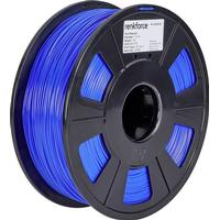 3D-skrivare Filament Renkforce PLA-plast 1.75 mm Blå 1 kg
