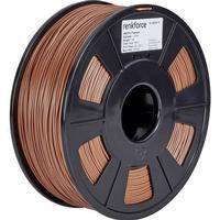 Renkforce 3D-skrivare Filament Renkforce ABS-plast 1.75 mm Brun 1 kg