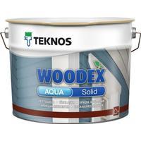 Teknos Woodex Aqua Solid Lasyrfärg Röd 9L