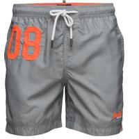 Superdry Waterpolo Swim Shorts Silver Grey Grit (1062016500060)