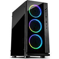 Inter-Tech W-III RGB Tempered Glass