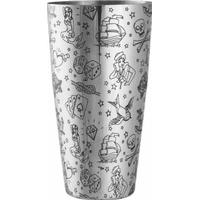 Boston Tattoo Pattern Cocktail Shaker 85 cl