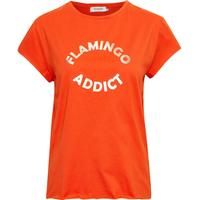 Soaked in Luxury Sadie T-shirt Pumpkin Orange