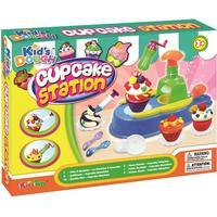 Modellervoks, Cupcake station
