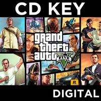 Grand Theft Auto GTA V (Five 5) PC CD Key Download for RGSC