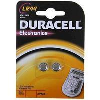 Duracell LR44/AG13 1,5V alkaliska batterier (2 st)