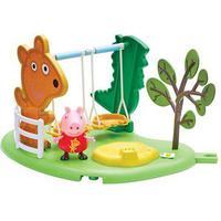 Peppa Pig Outdoor Fun Playset - Swing