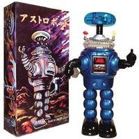 Lost In Space Robot Blue Tin Wind-Up Toy