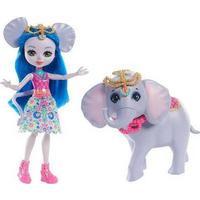 Mattel Enchantimals Ekaterina Elephant Doll & Antic Figure