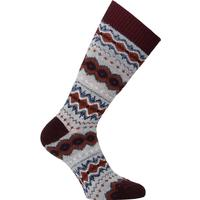 Barbour Caistown Grey Fairisle Socks