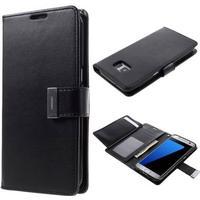 MERCURY Rich Diary Læder Coverm/kortholder til Samsung Galaxy S7 Edge