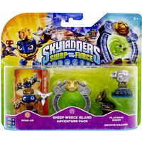Skylanders Swap Force: Adventure Pack (Wind Up, Sheep Reck Island, Platinum Sheep, Groove)