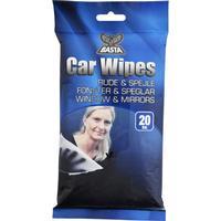 Basta Car Wipes vindue rengøring - 20 stk.