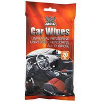 Basta Car Wipes universal rengøring - 20 stk.