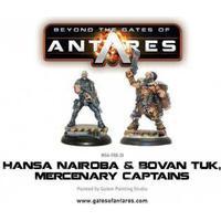Gates of Antares - Hansa Nairoba & Bovan Tuk, Merc. Captains