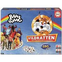 Educa Vildkatten Ramasjang Sällskapsspel , +10 på lager