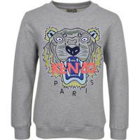 Kenzo Boys Grey Tiger Sweatshirt