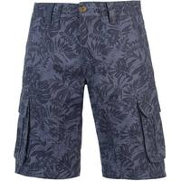 SoulCal Floral Cargo Shorts Navy (47820722)