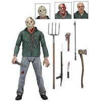 Friday the 13th Part 3 Jason Voorhees Ultimate Deluxe Action Figure 18cm