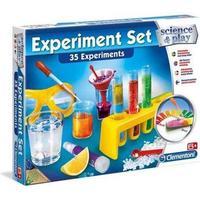 Clementoni Science & Play Experiment Set 35 Experiments