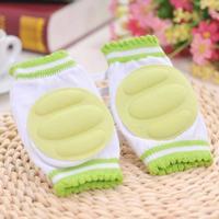 Vadderade knäskydd för bebis (grön)