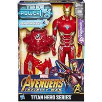 Hasbro Marvel Avengers Infinity War Titan Hero Power FX Iron Man E0606