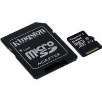 64GB Kingston Canvas Select microSDXC Class 10 UHS-I 80MB/s