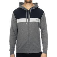 Hugo Boss Homeleisure Loungewear Hoodie Grey