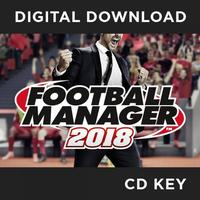 Football Manager 2018 PC & MAC & Linux CD Key Download for Steam