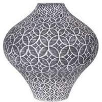 Vase med rustik dekoration